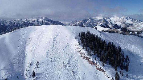 fatal avalanche site - forest service