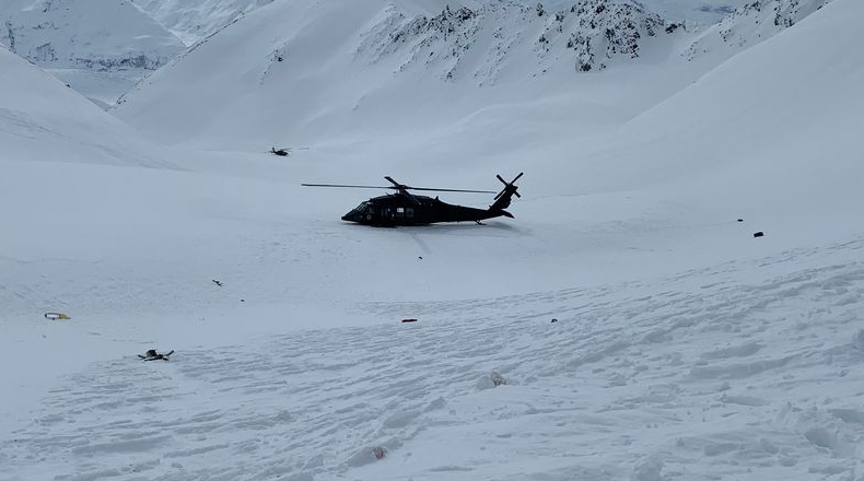 A Heli-ski avalanche near Matanuska Glacier killed a skier from Fairbanks